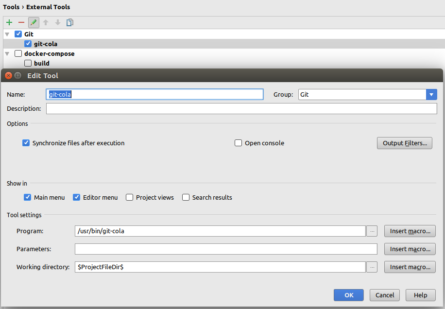 git-cola-phpstorm-external-tools
